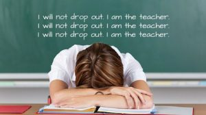 I don't want to be a teacher anymore. What do I do?
