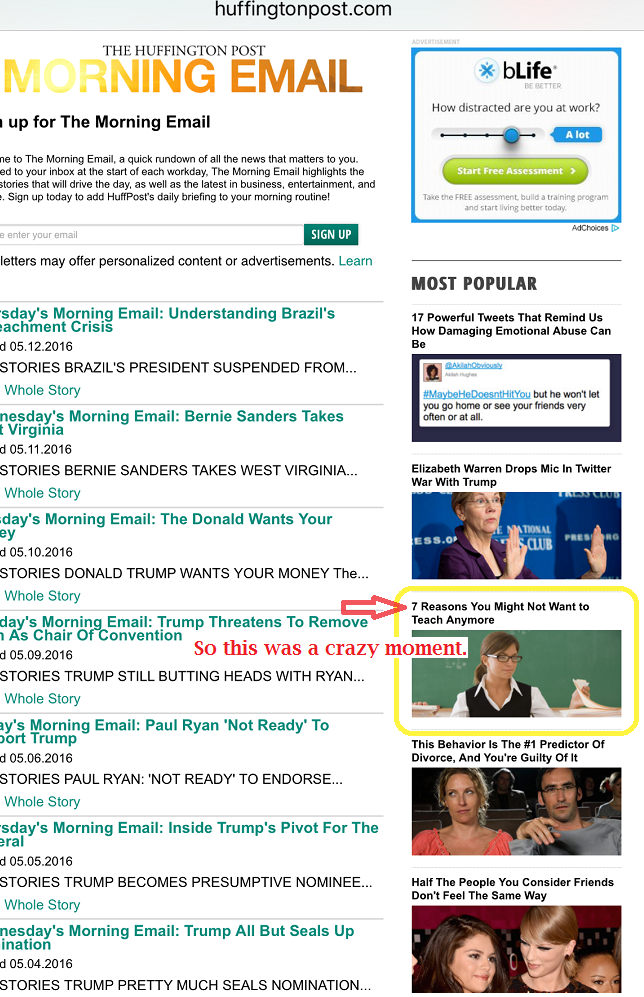 what happens when your post goes viral huffington post most popular