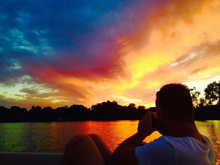 sylvan lake sunset love letter to michigan