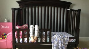 On Second Thought, We Are Totally NOT Ready for a Big Kid Bed