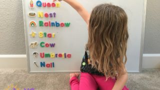 practice reading with preschooler