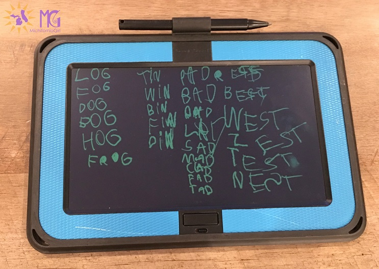 boogie board spelling words